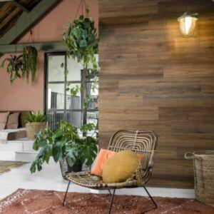 WallArt puiduvälimusega plangud, naturaalne tamm, sadulapruun
