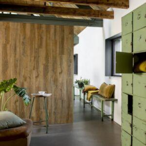 WallArt puiduvälimusega plangud, taastatud tamm, vintage pruun