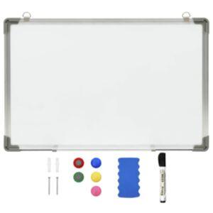 Pood24 magnettahvel, kuivpuhastatav, valge, 50 x 35 cm, teras