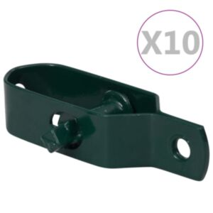 Pood24 piirdeaia pingutid 10 tk 100 mm terasest roheline