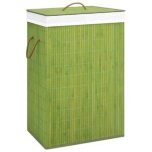 Pood24 bambusest pesukorv, roheline, 72 l