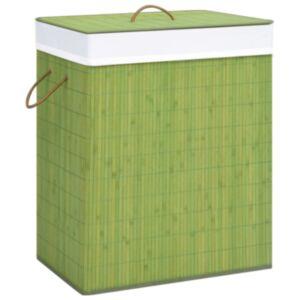 Pood24 bambusest pesukorv, roheline 100 l