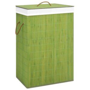 Pood24 bambusest pesukorv, roheline