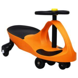 Pood24 pealeistutav vingerdav ja kiikuv auto, autopasunaga, oranž