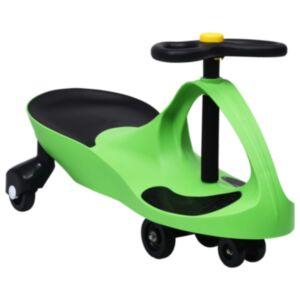 Pood24 pealeistutav vingerdav ja kiikuv auto, autopasunaga, roheline