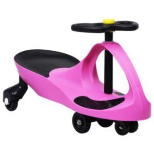 Pood24 pealeistutav vingerdav ja kiikuv auto, autopasunaga, roosa