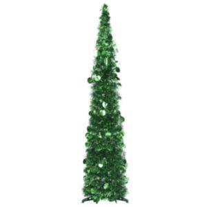 Pood24 pop-up kunstkuusk, roheline 120 cm PET