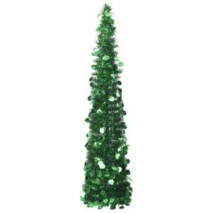 Pood24 pop-up kunstkuusk, roheline 180 cm PET