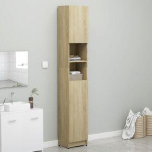 Pood24 pesumasinakapp, Sonoma tamm, 32 x 25,5 x 190 cm puitlaastplaat