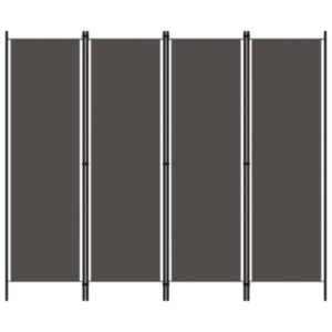 Pood24 4 paneeliga ruumijagaja, antratsiithall, 200 x 180 cm
