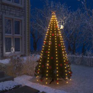 Pood24 kuusetuled, võrk, 250 LEDi, IP44, 250 cm