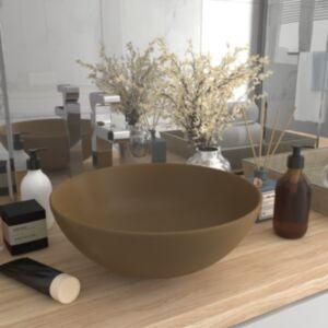 Pood24 vannitoavalamu keraamiline, kreemjas, ümmargune
