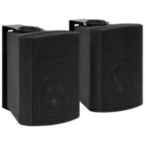 Pood24 seinale kinnitatavad stereokõlarid 2 tk, must, tuppa/õue 80 W