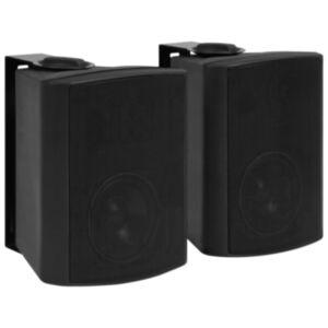 Pood24 seinale kinnitatavad stereokõlarid 2 tk, must, tuppa/õue 100 W