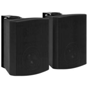 Pood24 seinale kinnitatavad stereokõlarid 2 tk, must, tuppa/õue 120 W