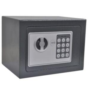 Pood24 elektrooniline digitaalne seif, 23 x 17 x 17 cm