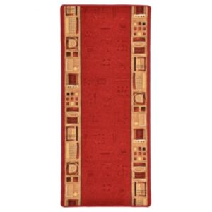 Pood24 vaipkate punane geelja tagaosaga 67 x 120 cm