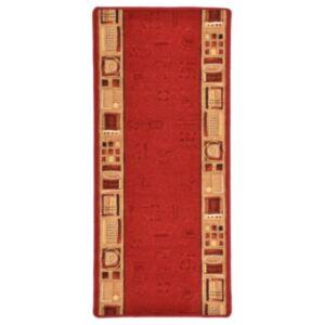 Pood24 vaipkate punane geelja tagaosaga 67 x 150 cm
