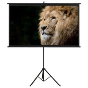 """Pood24 projektori ekraan statiiviga, 50"""" 16:9"""