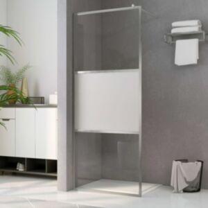 Pood24 dušinurga sein, matt ESG-klaas, 100 x 195 cm