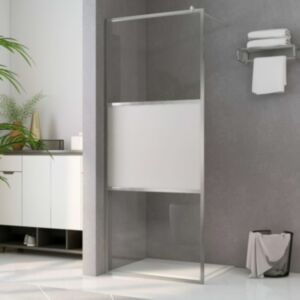 Pood24 dušinurga sein, poolmatt ESG-klaas, 115 x 195 cm