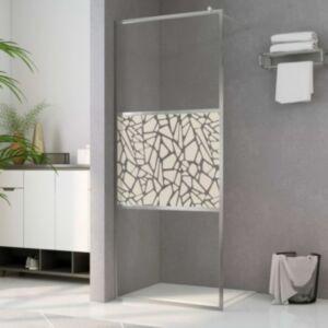 Pood24 dušinurga sein, kividisainiga ESG-klaas, 115 x 195 cm