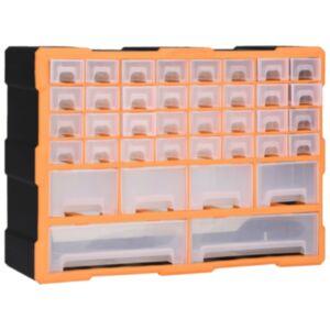 Pood24 mitme sahtliga organiseerija 40 sahtliga 52 x 16 x 37,5 cm