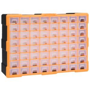 Pood24 mitme sahtliga organiseerija 64 sahtliga 52 x 16 x 37,5 cm