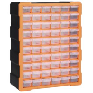 Pood24 mitme sahtliga organiseerija 60 sahtliga 38 x 16 x 47,5 cm
