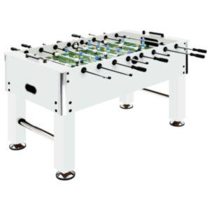 Pood24 lauajalgpalli laud, teras, 60 kg, 140 x 74,5 x 87,5 cm, valge