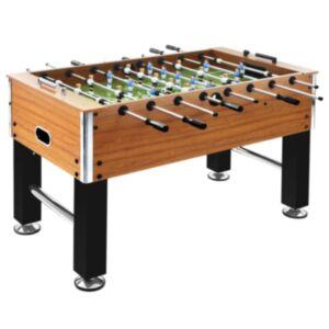 Pood24 lauajalgpalli laud teras 60 kg 140x74,5x87,5 cm helepruun, must