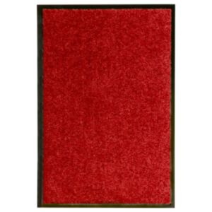 Pood24 uksematt pestav, punane, 40 x 60 cm