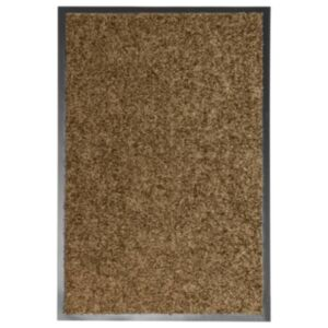 Pood24 uksematt pestav, pruun, 40 x 60 cm