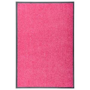 Pood24 uksematt pestav, roosa, 90 x 60 cm