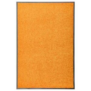Pood24 uksematt pestav, oranž, 60 x 90 cm