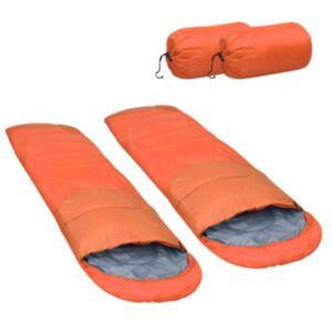 Pood24 kerge magamiskott, 2 tk, oranž, 15 ℃, 850 g