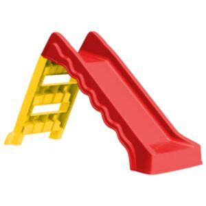 Pood24 kokkupandav liumägi lastele tuppa ja õue, punane ja kollane