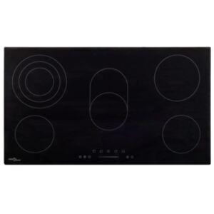 Pood24 keraamiline pliit 5 plaadiga, puutetundlik 77 cm, 8500 W