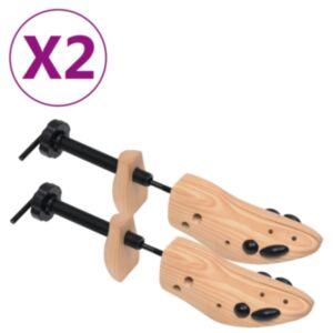 Pood24 kingapuud 2 paari suurus 41–46 männipuit