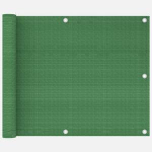 Pood24 rõdusirm, heleroheline, 75 x 300 cm, HDPE