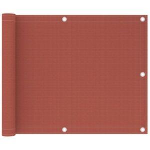 Pood24 rõdusirm, terrakota, 75 x 300 cm, HDPE