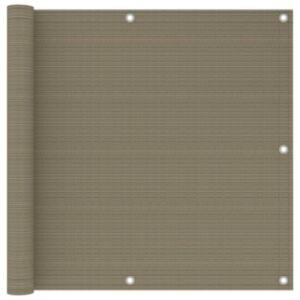 Pood24 rõdusirm, pruunikashall, 90 x 300 cm, HDPE
