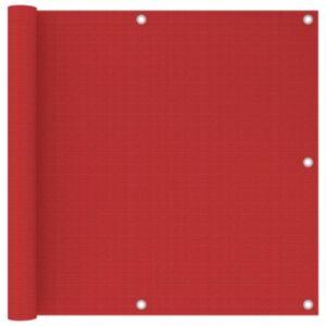 Pood24 rõdusirm, punane, 90 x 300 cm, HDPE