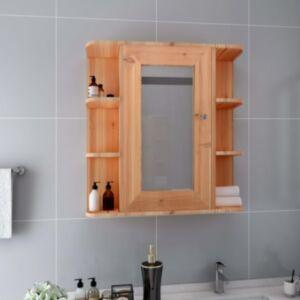 Pood24 vannitoa peegelkapp, tamm, 66 x 17 x 63 cm, MDF