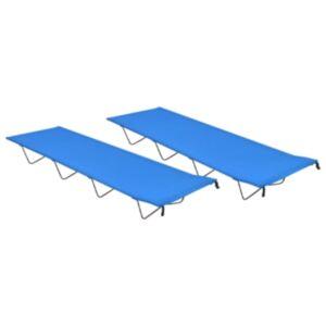 Pood24 matkavoodid, 2 tk, 180x60x19 cm, oxford-kangas ja teras, sinine