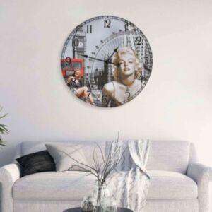 Pood24 vanaaegne seinakell, Marilyn Monroe, 60 cm
