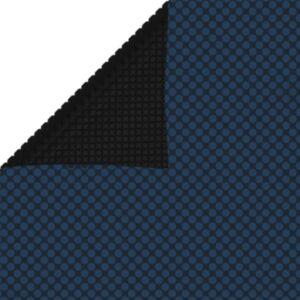 Pood24 ujuv PE ümmargune basseinikile, 260x160 cm, must ja sinine