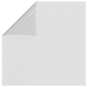 Pood24 ujuv PE ümmargune basseinikile, 260x160 cm, hall