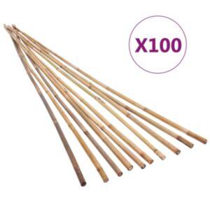 Pood24 bambusvaiad 100 tk 120 cm
