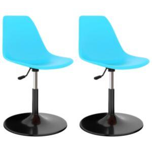 Pood24 pöörlevad toolid 2 tk, sinine, PP